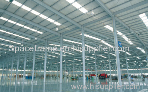 Two story steel structure building workshop