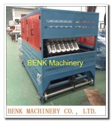 PVC dakpanplaat productiemachine