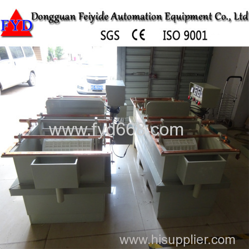Feiyide Semi-automatic Duplex Plating Machine for Hardware Parts Chrome Nickel Plating with German Material