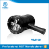 YUSHI V M100 UV-Lamp Rechargeable Led UV Flashlight Ultraviolet Torch for NDT testing