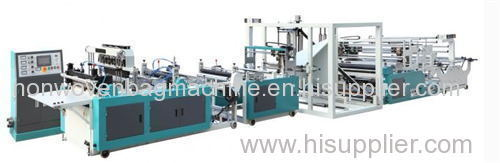 non woven D cut bag making machine
