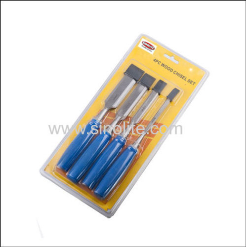 4pcs Wood working Chisel Size: 6-12-20-24mm