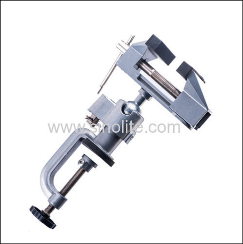 Nibbler Clamp with interchangable vice and holder