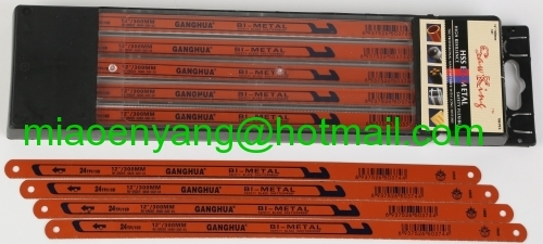 300mm hss bimetal flexible hacksaw blade