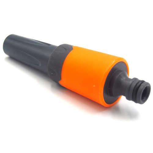 Plastic multifunction garden water hose nozzle