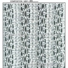 Stretch Kintting Lace Fabric For Dress And Garment .