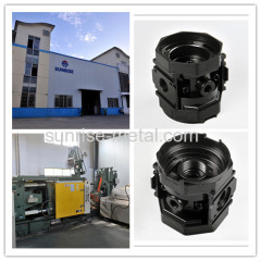 mould building with raw casting and machining
