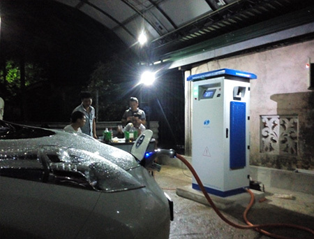 SETEC Charger Working in Sri Lanka