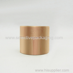 30g bamboo glass cream jar