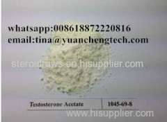 Raw Steroid Powder Testosterone Acetate 1045-69-8 / test a Steroid Hormone