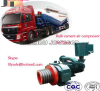 HOWO A7 cement tanker compressor capacity 12cbm for sale