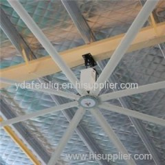 High Volume Long Blades Industrial Blower Extraction Ceiling Fan