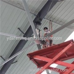AC Industry Warehouse Extractor Wind Up Airfoil Ceiling Fan