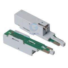 Single pair lighting protect unit