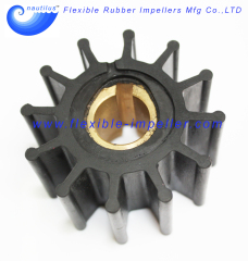 Water Pump Flexible Rubber Impeller Replace Jabsco Impeller 4568-0001 & Johnson 09-801B