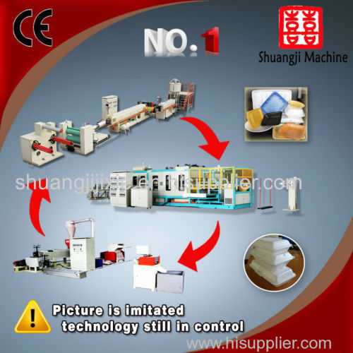 fast food container  extrusion line