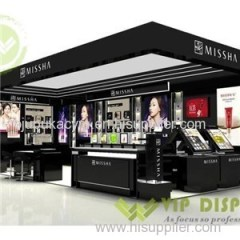 China Manufacture And Exporter Of Customized Cosmetic Cabinets Display Ideas With Good Price And High Class Technology