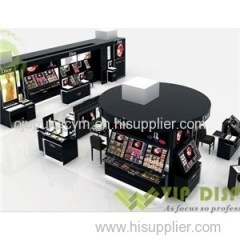 Modern Unique Cosmetic Counter Display Shelves Units Used For Make-up Retail Display