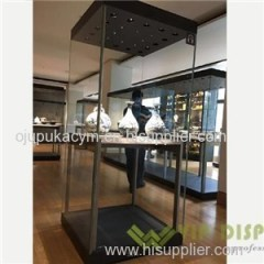 Costomized Good Quality Wooden Wall Display Shelves For Museum And Collectibles