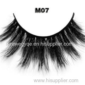 Wholesale Premium Horse Hair Strip Lash With Custom Strip Eyelash Box Natural Long Horse Hair False Eyelashes