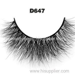 Hot Selling 3D Mink Eyelashes Premium Mink Eyelash Extensions