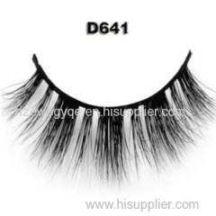 100 % 3D Authentic Real Soft Siberian Mink Fur Strip False Eyelashes Eye Lash Real Mink Eyelash Extensions