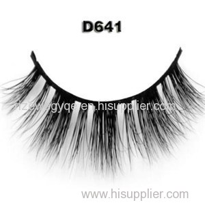100 % 3D Authentic Real Soft Siberian Mink Fur Strip False Eyelashes Eye Lash Real Mink Eyelash Extensions