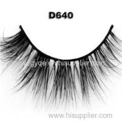 Glamorous Lashes Wholesale 3D Mink Lashes Own Brand Mink Fur Eyelashes High Quality Lovely 3D Mink