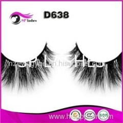 Factory Price 100% Hand Made Fur Material Reusable Mink Eye Lashes Wholesale Mink Fur Eyelashes