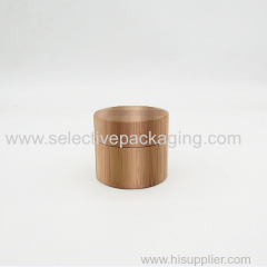 5g bamboo PP plastic face cream jar