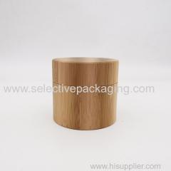 30g bamboo PP plastic jar cream container