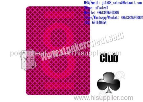 525be504c3b3 XF BinWang 96 Marked Playing Paper Cards With Invisible Ink For UV Invisible  Contact Lenses And