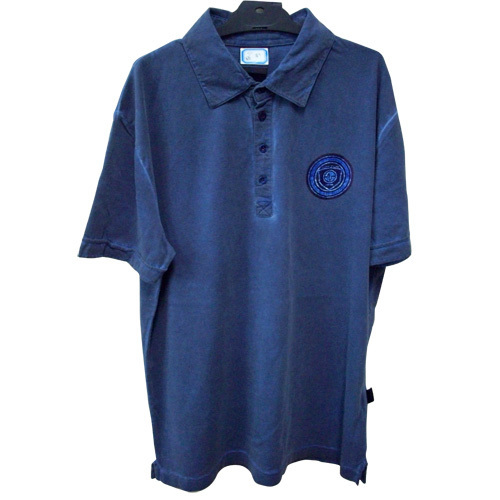 Mens Washed Polo Shirt