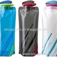 Plastic Bag Portable Folding Water Bottle