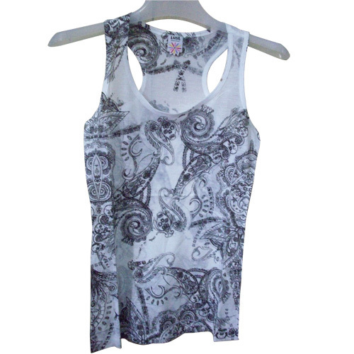Lavies Vest With Printing