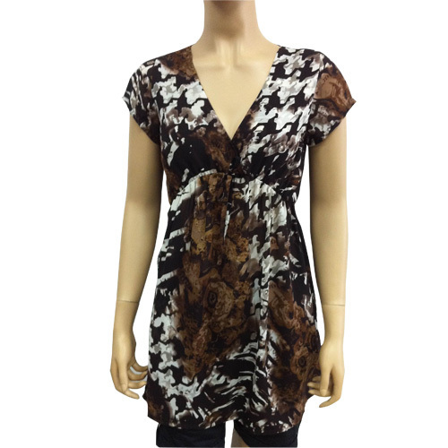Allover Printed Ladies Dress