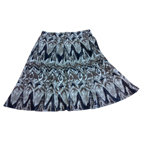 Ladies Overall Printed Skirt