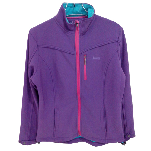 Ladies Bonded Fleece Outdoor Jacket