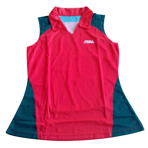 Ladies Panneled Running Top
