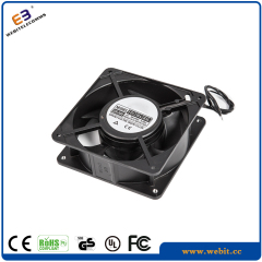 black axial flow oiliness fan