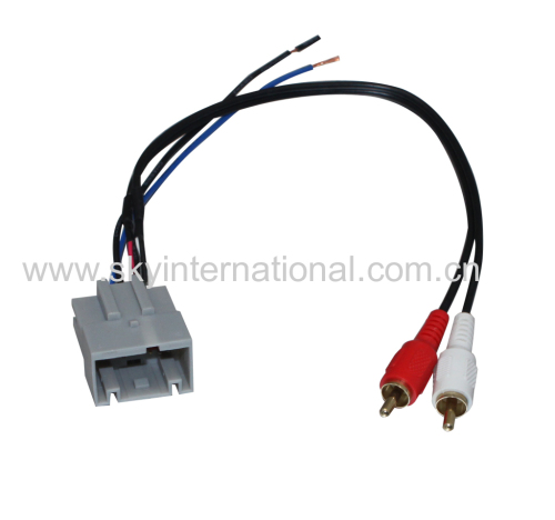 For METRA 70-5520AV FORD/LAND ROVER 2003-10 DVD Wire Harness
