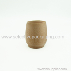 ECO-friend small natural bamboo cosmetic cream sample packaging