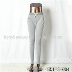 Women Fashion Sexy Woven Printing Fitted waist Stripe Leggings