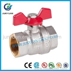 female thread brass ball valve
