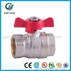 Forged Brass Ball Valve With T Handle