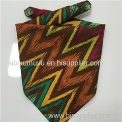 Custom Printing Polyester Cotton Square Triangle Bandana Scarf