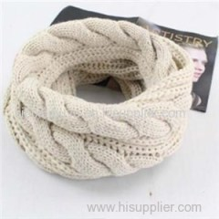 Custom Made Knitting Winter Warm Infinity Scarf