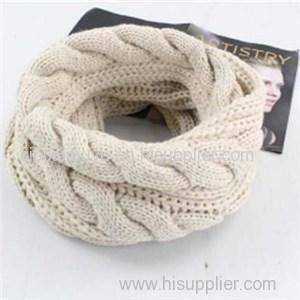 Custom Made Knitting Winter Warm Infinity Scarf
