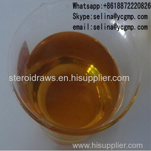 Muscle Building Mixed Injectable Steroids Yellow Oil Liquid Tri Tren 180