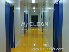 Workshop Cleanroom Construction Project